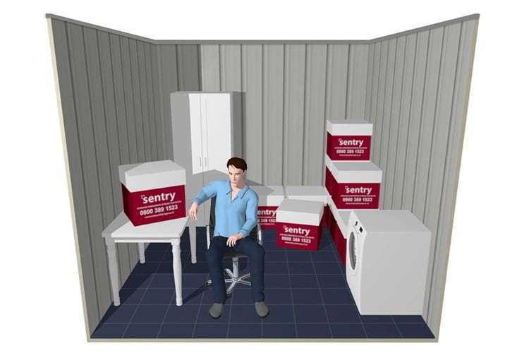 size estimator - 100 sqft indoor