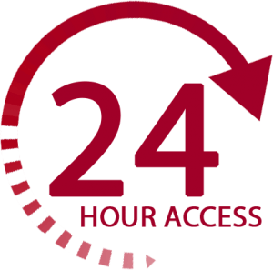 24 Hour Access Logo